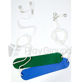 Plastic Belt Swing Seat with Rope