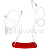 Plastic Swing Seat with Rope