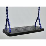 Rubber Seat with Plastisol Coated Chain