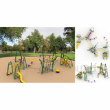 <start>Big Children Playground:Outdoor Playground Set</start>