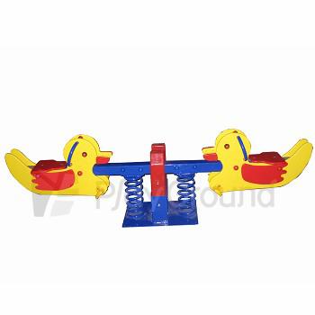 Juegos Infantiles Ver Sierra 2 Personas Spring Rider Seesaw Duck